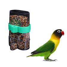 Bird Feeder Food Water Feeding Automatic Drinker Parrot Pet Feeder Us