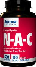 Jarrow Formulas, NAC, N-Acetyl-L-Cysteine, 500mg, 100 Tabs, Available Now