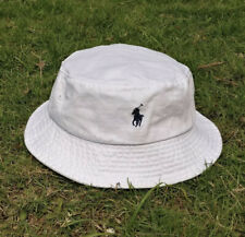 Polo ralph Lauren Bucket Hat White Authentic US SELLER  (BRAND NEW IN PACKAGE)
