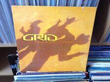 """grid - texas cowboys - excellent condition 12"""" vinyl"""