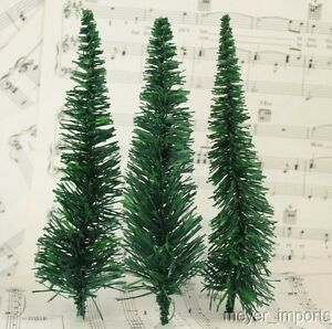 "6"" Evergreen Trees - 15 Pieces"