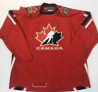 Vintage Nike Team Canada 2006 Olympic Mens Medium Dan Boyle IIHF Hockey Jersey