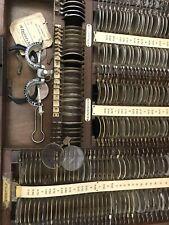 Optical Trail Lens Set Key Optometry Optometrist Antique