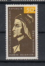 DDR Briefmarken 1965 Dante Alighieri Mi-Nr.1097 **postfrisch