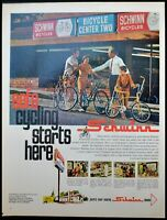 1969 Schwinn Bicycles family cyclers Bike Dealer vintage photo print ad