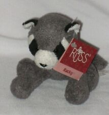 Russ Berrie Luv Pets Racky the Racoon #21105 with Tags - Pre-Owned