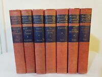 7 Books World's Greatest Literature 1949 Fountain Press Hardcover Collectable