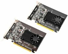 Lot 2 NVIDIA GEFORCE GT520 01G-P3-1526-KR 1GB PCI-E Video Graphics Card
