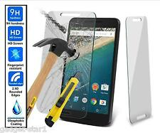 Genuine 100% TEMPERED GLASS Invisible HD Screen Protector For GOOGLE LG NEXUS 5X