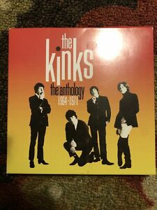 The Kinks 50th Anniversary The Anthology 1964-1971 5 CD Box Set