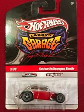 Signed CHASE Hot Wheels Larry's Garage CUSTOM VOLKSWAGEN BEETLE- RED