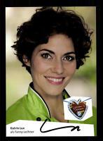 Katrin Lux Dahoam is dahoam Autogrammkarte Original Signiert # BC 65045