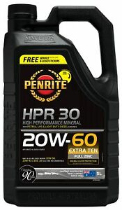 Penrite HPR 30 SAE 20W-60 Engine Oil 5L fits Ford F-150 4.9 (110kw), 4.9 AWD ...