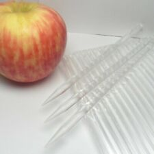 40pcs 6 in Clear Pointed Acrylic Sticks For Cake Pops or Candy Apple Heavy duty