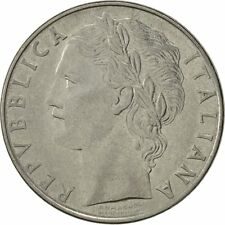 [#523591] Italy, 100 Lire, 1958, Rome, EF(40-45), Stainless Steel, KM:96.1