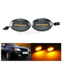 2x LED Side Indicator Light Turn Signal For Ford Transit Tourneo Fiesta Ka