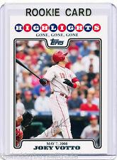 RC~JOEY VOTTO 2008 Topps Update ROOKIE CARD~'08~MVP~ALL-STAR~CINCINNATI REDS~CIN