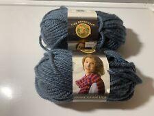 Lion Brand Hometown USA Yarn! Pretty and Soft! Color is Washington Denim!