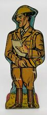 Infantry Colonel #75 Vintage Marx Toy Lithograph Tin Litho Army Soldier Figure