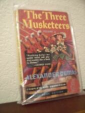 The Three Musketeers Vol.2 by Alexander Dumas (PB#37,1'st Prnt.Jan.1940,PB)