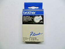 Brother Nastro Cassette TC-293 Blu Su Bianco 9mm P-Touch PT-6 PT-8 PT-10 Conf