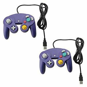 Lot Of 2 Style USB Wired Controllers For PC And MAC Classic Nintendo GC For Game