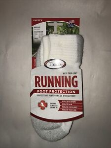 Thorlos Unisex 245234 Max Cushion Running Ankle Socks Size M 5.5-8.5 W 6.5-10