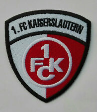 Aufnäher Patch FC Fußball Football club FC Kaiserslautern Logo Bügelbild neu