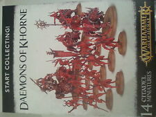 WARHAMMER AGE OF SIGMAR START COLLECTING DAEMONS OF KHORNE SET - NEW & SEALED