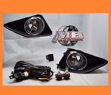 2009 2010 Toyota Corolla Chrome Clear Fog Light/Lamp Kit wiring + switch