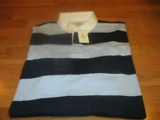 NEW NWT MENS SOUTHERN PINES LONG SLEEVE POLO RUGBY SHIRT SIZE XXL