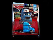 Disney Pixar Cars Gray Grey Semi Mattel Deluxe Die-cast, Blue Dinoco Truck Cab