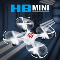 Mini 4 CH Drone Headless RTF Ready-To-Fly R/C Aircraft 6-Axis Gyro LED BLACK