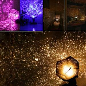 Star Sky Projector Night Light Lamp Romantic Cosmos Astro Galaxy Constellation