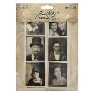 NEW Tim Holtz Idea-ology Photobooth Pictures