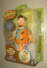 "HANNA BARBERA 6"" THE FLINTSTONES FRED FLINSTONE Jazwares FIGURE NEW MOSC"