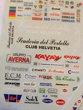 TRON de.85 1/43 DECAL HISTORIC RALLY 2008 ITALIA