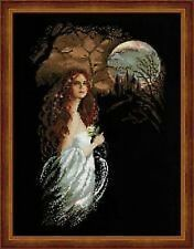 Midnight Gothic Scene Fantasy Counted Cross Stitch Kit