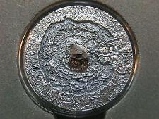 Niue Islands 2014- Canyon Diablo Meteorite, $1, ONLY 666 MADE! Antique, + box!