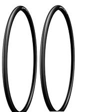 2 Michelin Dynamic Sport 700 x 23 Bicycle Tire Black 700x23c Sport Tires 1 PAIR