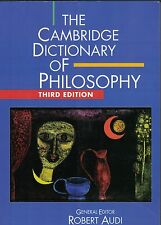 The Cambridge Dictionary of Philosophy by Audi 9781107643796.