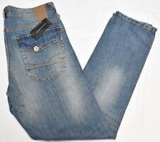 Sean John Jeans Men's 36x32 Hamilton Relaxed Tapered Denim Light Tint Urban N920