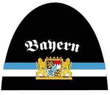 Gorro de punto Bayern Gorra con escudo Producto nuevo UNISEX Bandera