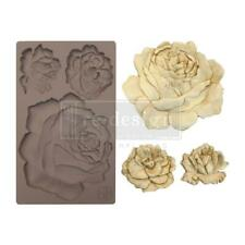 Prima Marketing Silicone Mould Mold ETRUSCAN ROSE Clay Resin Candy Chocolate