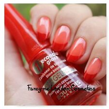 BOURJOIS 1 SECONDE GEL SILICONE - TEXTURE NAIL POLISH new + UK SELLER + FREE P&P