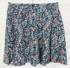 SUPERDRY Womens Blue Floral Skirt Size 8