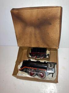 Marklin German 1 Gauge Clockwork Locomotive & Tender R-920 Runs,Original Key&Box