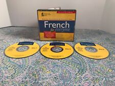 French For Everyone The Learning Company 3 Disc Set CD-ROM