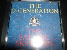 The D-generation Satanic Sketches Rare Australian Comedy CD - Like New