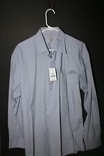 Blue Brothers Dress Shirt New w/ tags Blue Long sheaves XL free shipping
